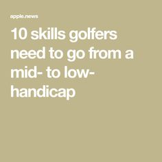 10 skills golfers need to go from a mid- to low- handicap Oregon Ducks Football, Ohio State Football, Ohio State University, Ohio State Buckeyes, American Football, Volleyball Tips, Notre Dame Football, Golf Lessons, Tennessee Volunteers