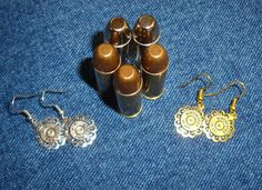 Shotgun Dangle Earrings
