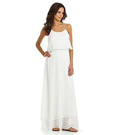 Gianni Bini Penelope Flounce Maxi Dress Fun and flirty white layered maxi. Unique back (see picture). Still has tags! White Maxi Dresses, Summer Dresses, Lace Maxi, Rehearsal Dinner Dresses, White Chiffon, Women Lifestyle, Gianni Bini, Dream Dress, Playing Dress Up