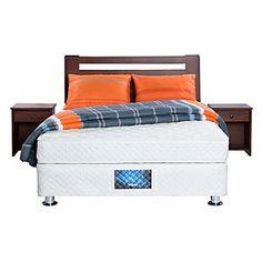 Rosen Box Americano Tfx4 Praga 2 Plazas + Textil + Muebles Agatha