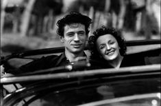 Yves Montand, Edith Piaf