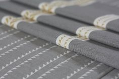 Slade Stripe and Windmill Wood Grey Fabric, Linen Fabric, Curtain Fabric, Curtains, Hand Sketch, Hand Designs, Natural Linen, Soft Furnishings, Fabric Design
