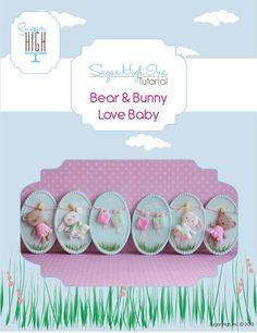 Bear & Bunny Love Baby Tutorial, $7.00