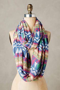 WE ♥ THIS!  ----------------------------- Original Pin Caption: Alzat Infinity Scarf - anthropologie.com #anthrofave