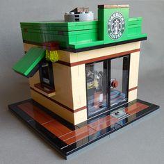 LEGO Custom Coffee Shop $79.99 USD - Custom LEGO Design Studio