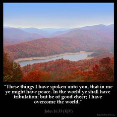 Inspirational Image for John 16:33