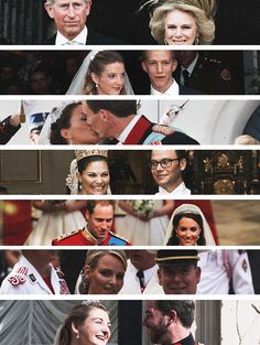 koningspaar:  Major Royal Weddings of the 21st Century-Charles and Camilla 2005, Louis and Tessy 2006, Joachim and Marie 2008, Victoria and Daniel 2010, William and Catherine 2011, Albert and Charlene 2011, Guillaume and Stephanie 2012