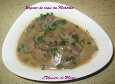 Rognon de veau au marsala (au Cookéo) - L'univers de Marie