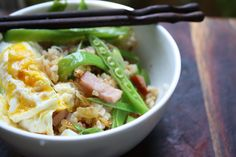 This healthy (and gluten free!) Fried Rice recipe looks so easy!