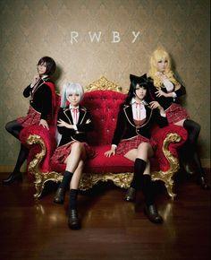Ruby Rose, Weiss Schee - Iris宝宝宝酱 (http://goo.gl/EEjUQN)Blake Belladonna, Yang Xiao Long - EriolM (http://goo.gl/6ekZub)