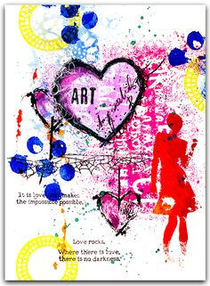 STUDIO H ART: It is love that makes.....