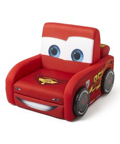 Look what I found on #zulily! Cars Lightning McQueen Deluxe Chair by Pixar #zulilyfinds