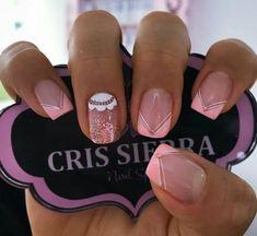 Triangles, Pink Nail Art, Opi, Cute Nails, Nail Art Designs, Acrylic Nails, Polish, Nail Design, Work Nails