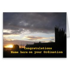 Review Congratulations on Ordination customize add name Greeting Card you will get best price offer lowest prices or diccount coupone