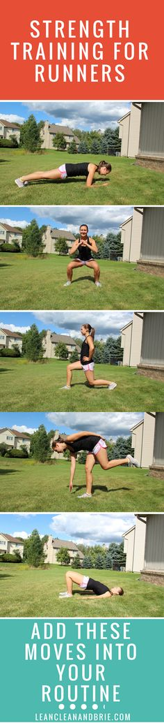 Runners, add these 5 moves to your strength training routine to run better!
