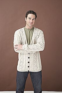 282cdcf8f915e2 SKILL LEVEL  Intermediate Mens Knitted Cardigan
