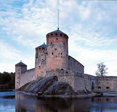 © The National Board of Antiqities, Soile Tirilä St Olaf, National Board, Fortification, Tower Bridge, Archaeology, Finland, Castles, Graphic Art, Buildings