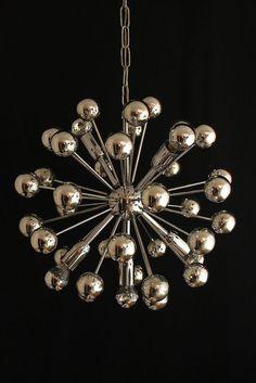 Original sputnik lampe h ngelampe 70er jahre for Lampen 70er style