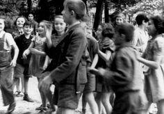 Children in Theresienstadt, 1944.