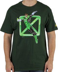 Sheldons Green Lantern Shirt