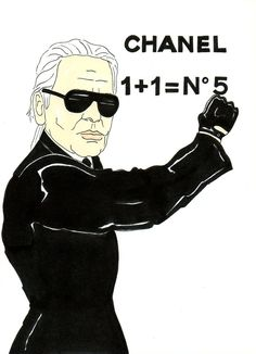 Karl Lagerfeld rules over Chanel