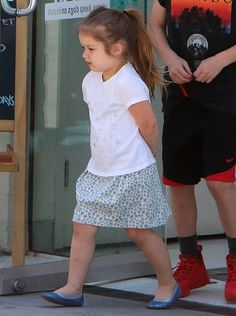 Harper and The Beckham family out and about, Los Angeles, America - 08 Apr 2015