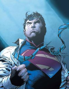 Superman by Jim Lee and Scott Williams