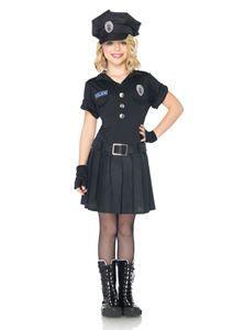 Playtime Police Child Girls Costume #Halloween #HalloweenCostumes