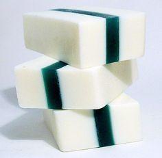 Moroccan Mint Unisex Handmade Goats Milk Soap by seamariecreations.