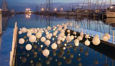 Concept - Bubbles, illuminated. Onde Sensuelle by Alexandre Arcens and Marion Moustey