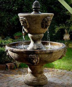 moderner garten springbrunnen / modern, classic garden fountain, Gartenarbeit ideen