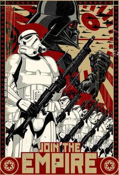 Star Wars - The Empire is calling you.