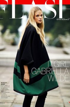 Gabriella Wilde for November 2013 Vogue photographed by Ward Ivan Rafik and styled by Azza Yousif.
