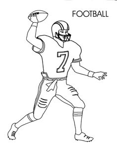 football coloring pages for kids httpfullcoloringcomfootball