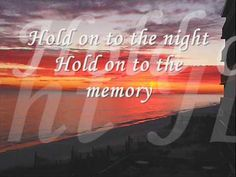 Hold on to the night - Richard Marx (JM) hold on to the night by richard marx very romantic songs this is one of my favorite songs i create this for eveyone that will be send to their love ones.hope u like this. thanks for watching. Cool Music Videos, Good Music, My Music, Dance Music, Music Lyrics, Prom Songs, Orange Julep, Nights Lyrics, Easy Listening Music