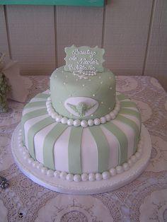 Cute Baptism Cake