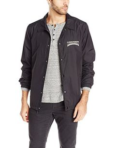 e2b5f7576a9 Volcom Men's Fairmont Coaches Jacket: Keeping it old school. The Fairmont  coaches jacket blends the old and new with just the right touch.