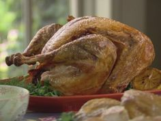 Turkey Injected with Ranch Dressing (S5/Big Family Thanksgiving)