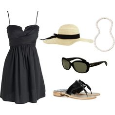 LBD, created by perfectlypickedoutfits on Polyvore