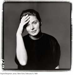 Ingrid Bergman by Richard Avedon