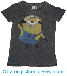 Despicable Me 2 Minion Distressed Licensed Graphic T-Shirt