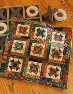 Hanging Quilts, Quilted Wall Hangings, Small Quilt Projects, Quilting Projects, Quilting Ideas, Sewing Projects, Nancy Zieman, Scrappy Quilt Patterns, Scrappy Quilts