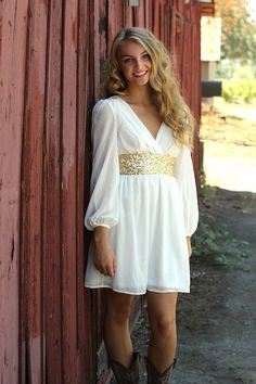 Modern Goddess Sequin Dress
