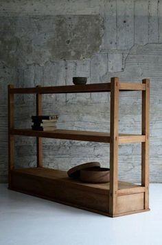 Solid Wood Furniture, Classic Furniture, Unique Furniture, Furniture Projects, Diy Furniture, Furniture Design, Wood Shelves, Wood Design, Architecture