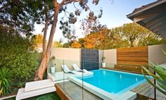 small pool but dope