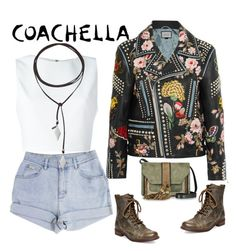 """""""coachella"""" by phoebe-zeng on Polyvore featuring Alice + Olivia, Gucci, Vanessa Mooney, Steve Madden and L'Autre Chose"""