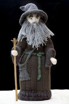 Geek Art Gallery: Crafts: Hobbit Amigurumi