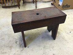 Lot 118 at Antiques And General Sale (Will Include Lots From The BBC Antiques Road Trip Show) from Auction House Berwick. Antiques Road Trip, Pine, Stool, Auction, Garden, House, Furniture, Home Decor, Pine Tree