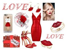 """""""valentines beauty"""" by tammysomerhalder ❤ liked on Polyvore featuring Salvatore Ferragamo, Karl Lagerfeld, Whimsical Watches, Thalia Sodi, Casetify and WALL"""