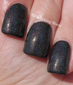 The Sparkling Hoard: ALIQUID Lacquer-Nobody Doesn't Like Sara Lee! (Charity Auction Custom).  Auction starts June 23rd on my blog's Facebook page!  Money raised helps out homeless potbellied pigs!